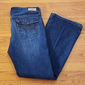 LEVIS Low BOOT Cut 545 Denim Jeans 12 Med